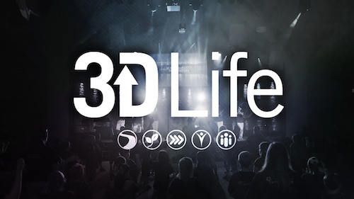 3DLife Title Graphic Cove church
